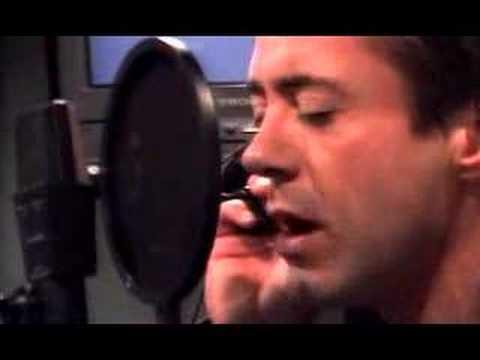 Robert Downey Jr. sings