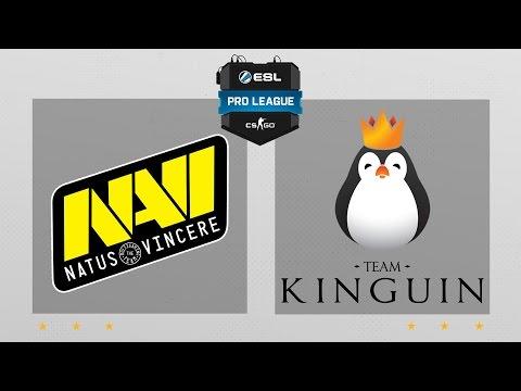 CS:GO - NaVi vs. Kinguin [Mirage] Map 1 - ESL Pro League Season 5 - EU Matchday 20