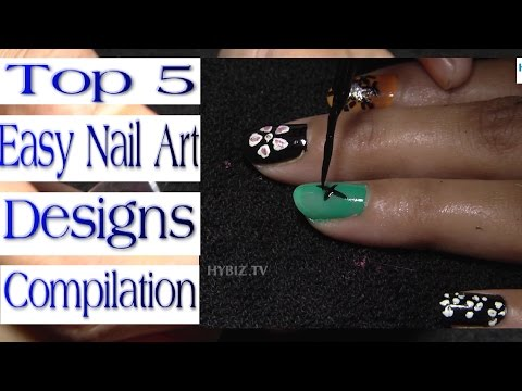Top 5 Easy Nail Art Designs Compilation