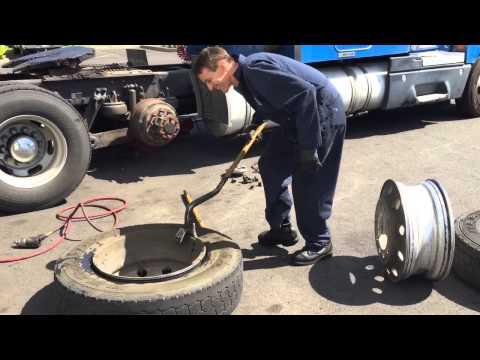Как сделать колеса на камаз