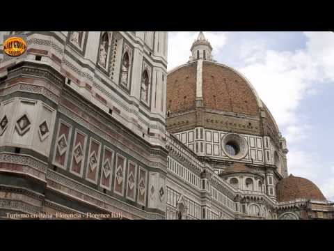 Turismo en Italia Florencia Florence Italy HD видео