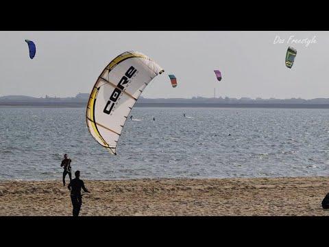 Kite serven - การเล่นกีฬาไคท์เซิร์ฟ ที่เกาะ Sylt (ซูลท์ ) เยอรมนี - Kite serven