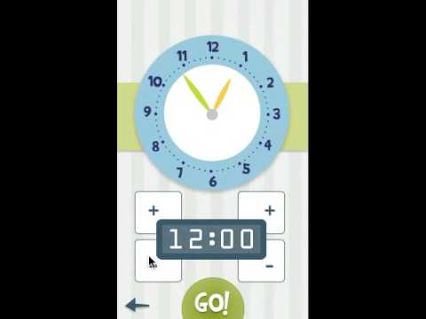 Video of Clockwise - learn the clock :)