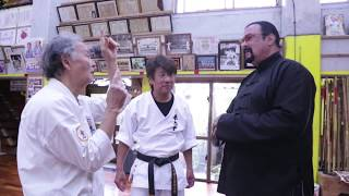 Video Steven segal came to Okinawa to visit Tetsuhiro Hokama MP3, 3GP, MP4, WEBM, AVI, FLV Juli 2019