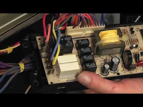 Frigidaire Range Repair – How to replace the Electronic Control Board