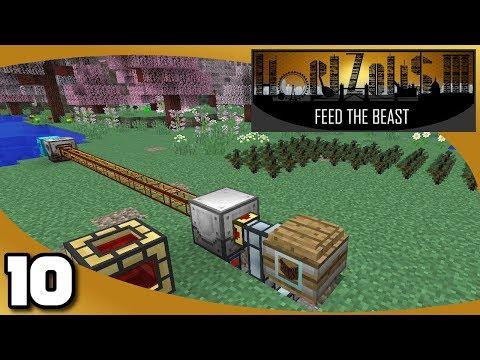 FTB Horizons 3 - Ep. 10: Elevator & Tree Farm (видео)