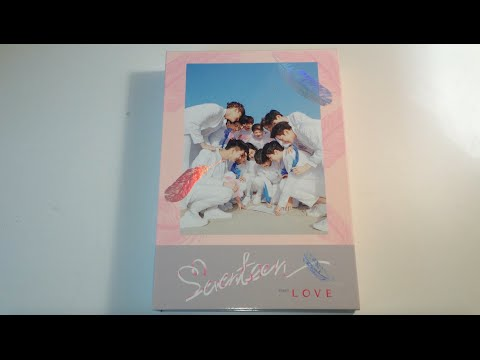 ♡Unboxing Seventeen 세븐틴 1st Studio Album First Love & Letter (Love Version)♡ (видео)