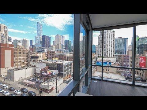 A 10-tier corner 2-bedroom, 2-bath at River North's new SixForty apartments