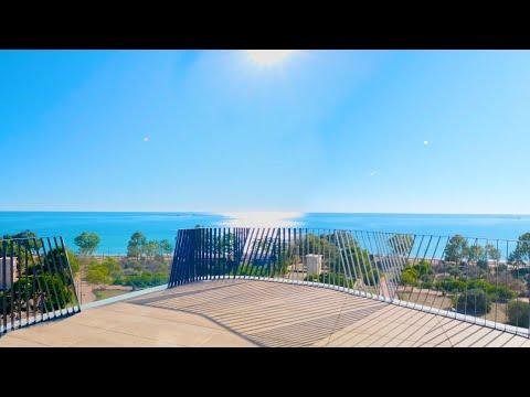 1200000€/1 линия моря/Элитный пентхаус в Бенидорме/Недвижимость в Испании/Комплекс Премиум-класса