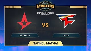 Astralis vs FaZe - DreamHack Marceille - map1 - de_mirage [CrystalMay, SleepSomeWhile]