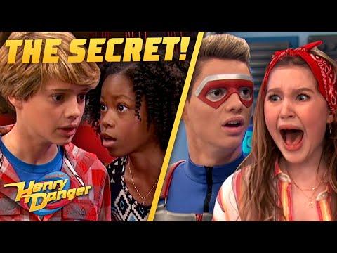 EVERY TIME Kid Danger's Secret Is Revealed! Henry Danger