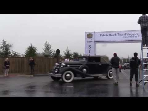 Cars of the 2014 Pebble Beach Tour d'Elegance