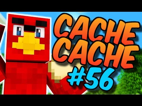 CACHE CACHE SUR MINECRAFT ! MAP ANGRY BIRDS 2 ! EPISODE 56 !