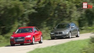 Audi A4 vs. BMW 3er 2015