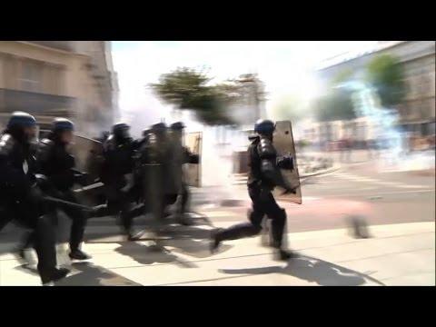 Des heurts éclatent à Nantes en marge de la manifestation contre la loi Travail