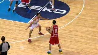 Dunk of the Game V. Tsanikidze CRO-GEO EuroBasket 2013