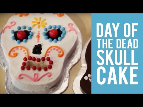 How to make Day of the Dead Cakes