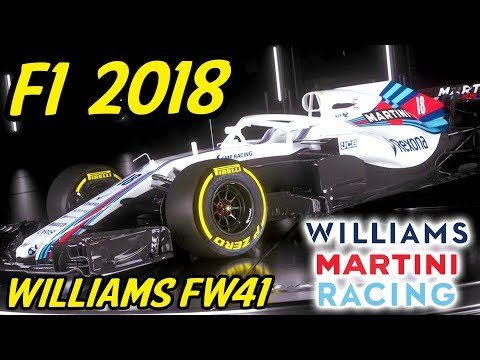 F1 Williams FW41 Analysis - Lets Talk F1 2018