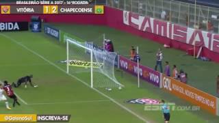 Facebook: https://www.facebook.com/GolsnoSul/Twitter: https://twitter.com/GolsnoSulYoutube: youtube.com/c/GolsnoSulSe gostou deixe seu like por favor!Vitória 1 x 2 ChapecoenseNarração: Herter AntunesRádio ChapecóImagens: ESPN BrasilBrasileirão Série A 2017 - 16°Rodada