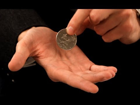How to Palm a Coin trick
