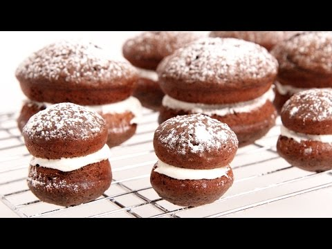 Chocolate Whoopie Pies Recipe – Laura Vitale – Laura in the Kitchen Episode 873