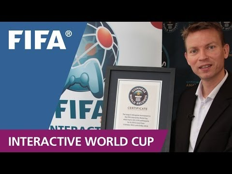 FIFA Interactive World Cup breaks the World Record!