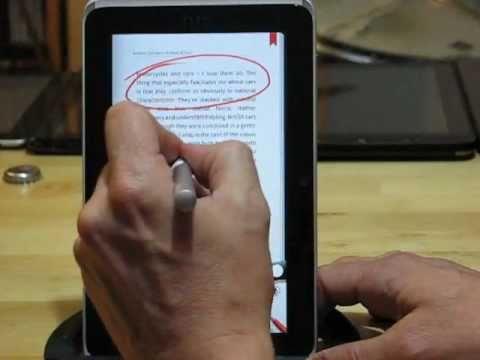 HTC Flyer 'Magic Pen' Review: Notes, PDF, Books