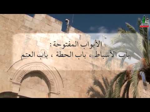 #شاهد تعرف على أبواب المسجد الأقصى.. كم عددها؟ وما اسمها؟