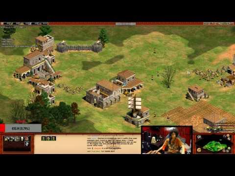 Age Of Empires II - Duo avec Skyyart VS 2 IA Difficile