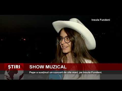 Pepe, concert de zile mari pe Insula Fundeni