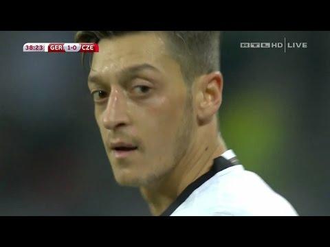 Mesut Özil vs Czech Republic (Home) /08/10/2016) HD 720p By iMesut11Özil