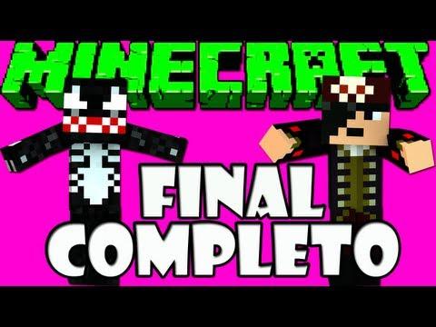MINECRAFT: Desafio dos 4 Pilares Final Completo XD
