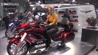 10. The 2019 Honda Gold Wing motorcycles (luxury motorcycles 2019)