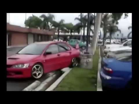 Tuning cars drifting fails – Stupid men driving