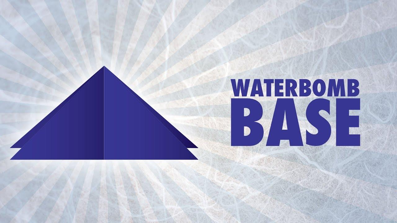 origami waterbomb base ez origami