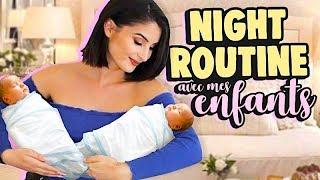 MA PREMIERE NIGHT ROUTINE AVEC MES ENFANTS 👶🏻