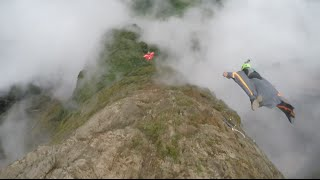 Zhaotong China  City pictures : First Wingsuit Flying Trial Held in Southwest China