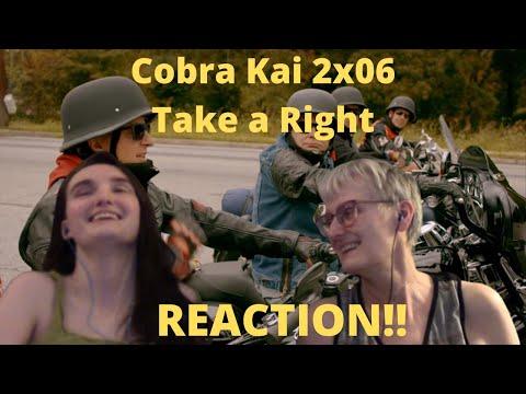 """Cobra Kai Season 2 Episode 6 """"Take a Right"""" REACTION!!"""