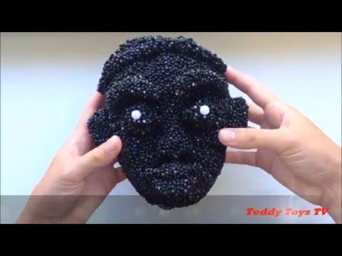 Black Slime - Most Satisfying Slime ASMR Video  - Relaxing Slime ASMR - Teddy Toys TV