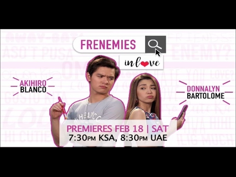 Frenemies in Love this February 18 on Kapatid TV5 Middle East