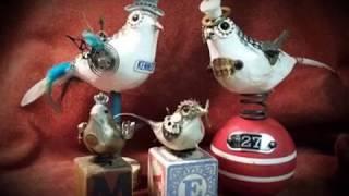 Funky Steampunk Birds