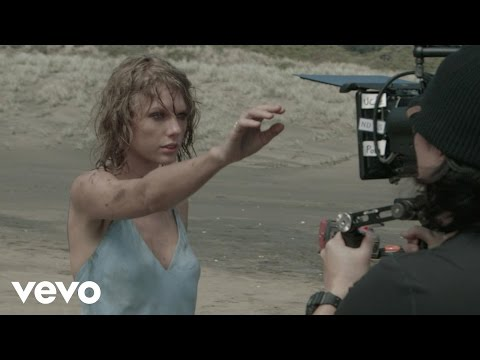 "The making of the Taylor Swift video ""Out of the Woods"""