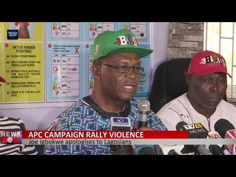 Lagos APC  Apologises To Lagosians For Violence During Flag Off Rally