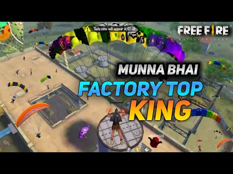 King Of Factory Fist Fight | Amazing Headshots on Factory Roof - Garena Free Fire