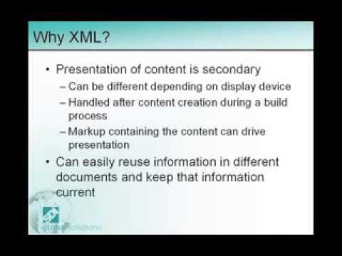 Y XML, Y Now, Y DITA [SF Bay Arbortext PTC User Meeting]