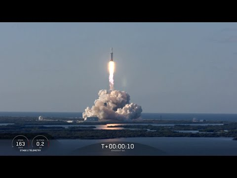 Arabsat-6A Mission © SpaceX
