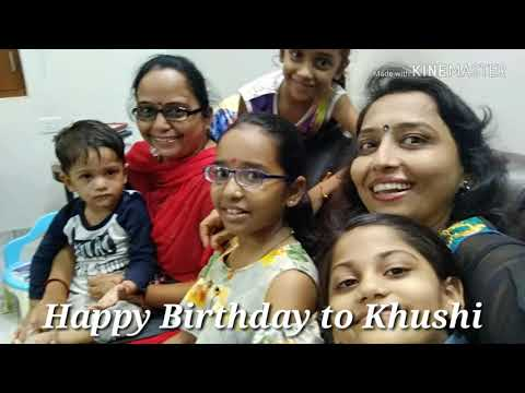 Khushi O Khushi Meri Son Pari Song On Khushi Birthday