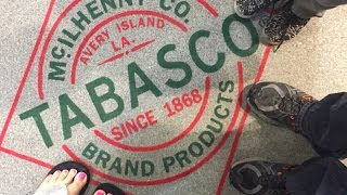 I had a great time touring the Tabasco factory! I really wish it hadn't been such a dreary day because I would've loved to see the jungle gardens and other parts of the island!