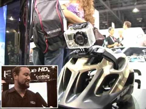 GoPro Hero high-definition wearable video camera from Interbike 2009