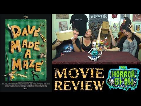 """Dave Made a Maze"" 2017 Darkly Comedic Horror Movie Review - The Horror Show"